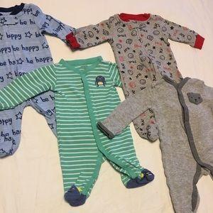 Other - Newborn Baby Boy Footie Bundle!